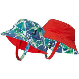 Patagonia Baby Sun Bucket Hat Goat Climber: Lime Green